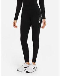 Nike Sportswear Leg-A-See Damen-Leggings - Schwarz