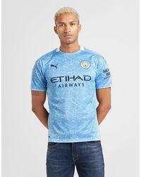 PUMA Manchester City Fc 2020/21 Home Shirt - Blue
