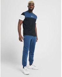 Lacoste Slim Cuffed Fleece Pants - Blue