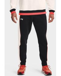 Under Armour - Rival Fleece Amp Snap Pants - Lyst