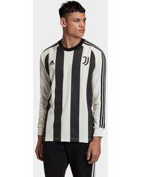 adidas Juventus Icons Long-sleeve Top - Black