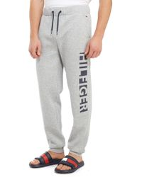Tommy Hilfiger - Large Side Logo Trousers - Lyst