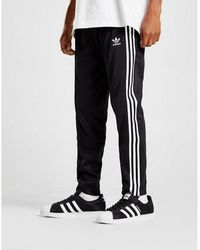 adidas Originals Beckenbauer Cuffed Track Pants - Black