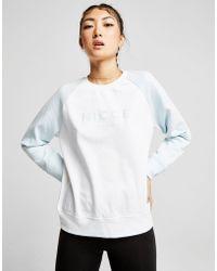 Nicce London - Raglan Logo Crew Sweatshirt - Lyst