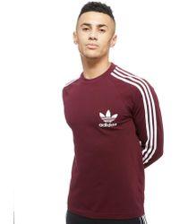 adidas Originals - Long Sleeve California Pique T-shirt - Lyst