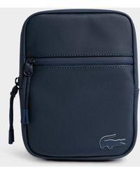 Lacoste - Concept Monochrome Small Crossover Bag - Lyst
