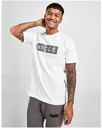Nicce London - Emblem T-Shirt Herren - Lyst