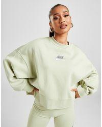 Nike Double Futura Crew Sweatshirt - Green