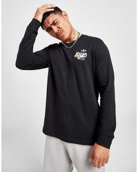 adidas Originals Back Hit Skate Maglia a maniche lunghe - Nero