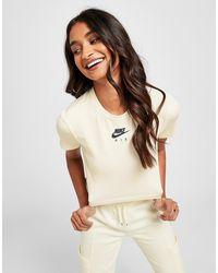 Nike Air Crop T-shirt - Natural