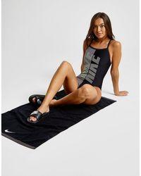 Nike Logo Swimsuit - Black