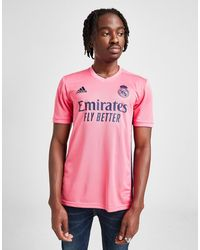 adidas Real Madrid 2020/21 Away Shirt - Pink