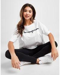 Champion Boxy Crop T-shirt - White