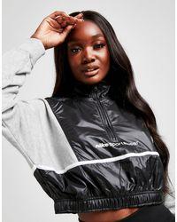 Nike Archive Remix 1/4 Zip Jacket - Gray