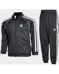 adidas Yb Ss Suit Adiclr Blk/wht - Black