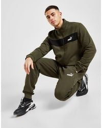 PUMA Fleece Tracksuit - Green