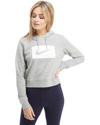 Nike - Drawstring Hoodie - Lyst