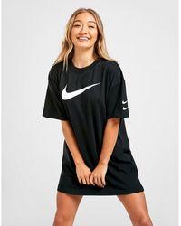 Nike Swoosh T-shirt Dress - Black
