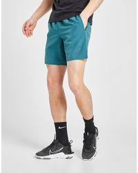 Nike Run Division Brief-lined Running Shorts - Green