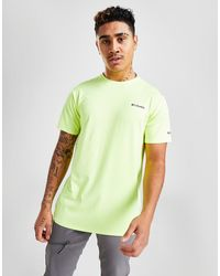 Columbia Assent T-shirt - Yellow