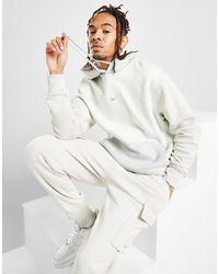 Nike Swoosh Pullover Hoodie - White