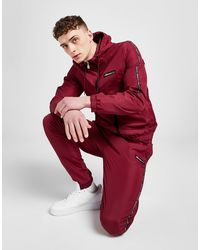 Ellesse Locktino Woven Tracksuit - Red