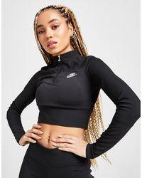 Nike Air Ribbed Long Sleeve Top - Black