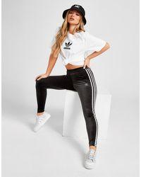 adidas Originals Velvet Leggings - Black