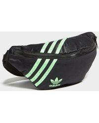 adidas Originals Swarovski Color Block Waist Bag - Black