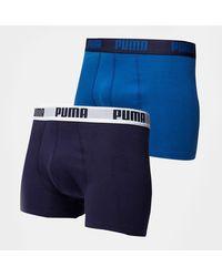 PUMA 2 Pack Boxers - Blue