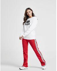 Kappa Banda Popper Trousers - Red