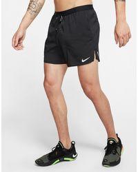 Nike Flex Stride Men's 13cm (approx.) Brief Running Shorts - Black