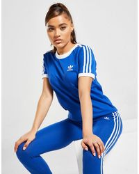 adidas Originals 3-stripes California T-shirt - Blue