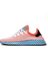 adidas Originals - Deerupt Runner Suede-trimmed Mesh Trainers - Lyst