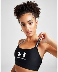 Under Armour Wordmark Bra - Black