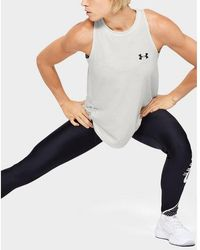 Under Armour Charged Cotton Tank - White