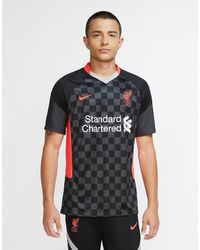 Nike Liverpool Fc 2020/21 Third Shirt - Black