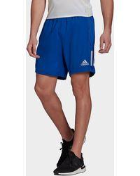 adidas Own The Run Shorts - Blue
