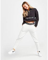 Calvin Klein Tape Fleece Joggers - Grey