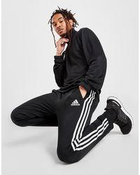 adidas Badge Of Sport 3-stripes Poly Track Pants - Black