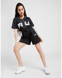 Fila Mesh Basketball Shorts - Black