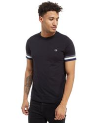 Fred Perry - Cuff T-shirt - Lyst