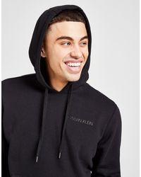 Calvin Klein Core Fleece Overhead Hoodie - Black