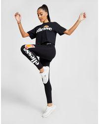Ellesse Logo Leggings - Black
