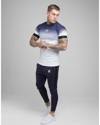 SIKSILK Poly Track Trousers - Blue