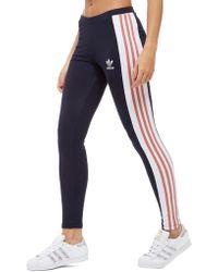 New Adidas Originals Women's Stretchable Tape Leggings Cargo