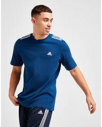 adidas Badge Of Sport 3-stripes T-shirt - Blue