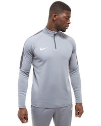 Nike - Academy Drill Top - Lyst