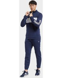 Reebok Training Essentials Linear Logo Tracksuit - Blue