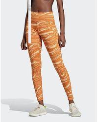 adidas Originals Believe This Wanderlust Leggings - Orange